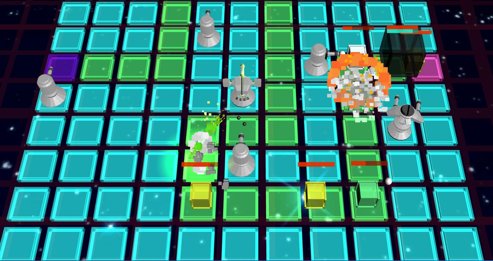 Cube Defender screenshot