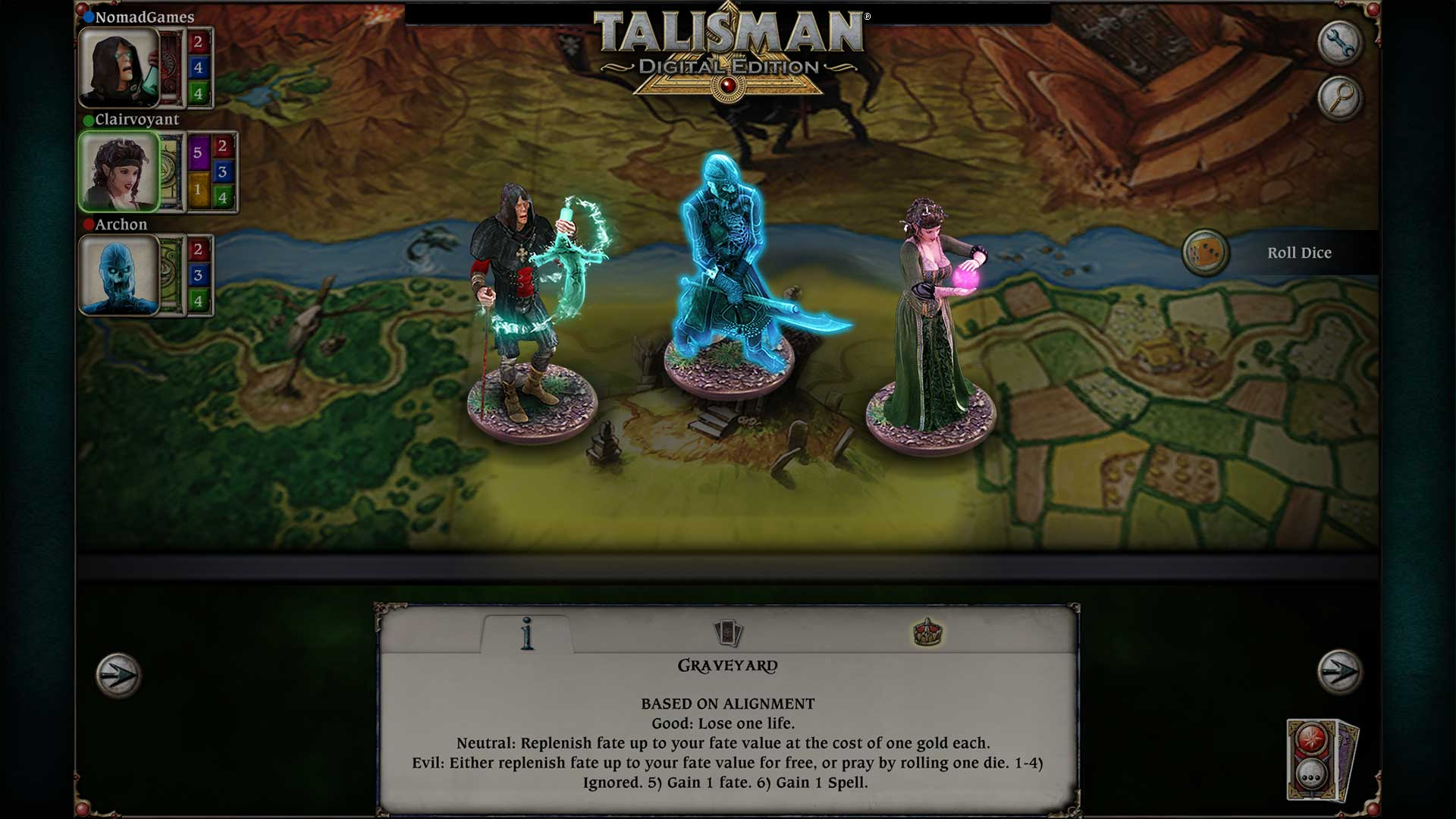 Talisman - The Realm of Souls Expansion screenshot