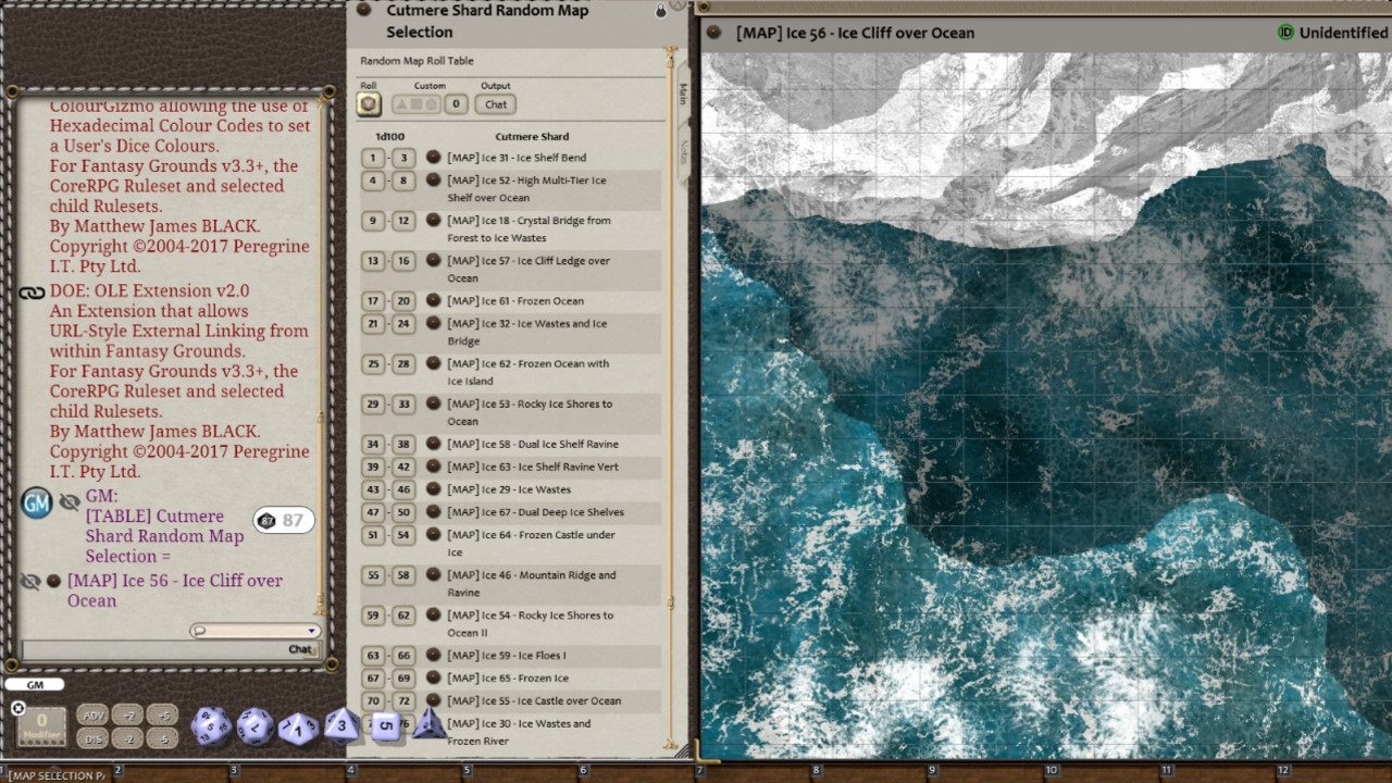 Fantasy Grounds - Meanders Map Pack: Cutmere Shard (Map Pack) screenshot