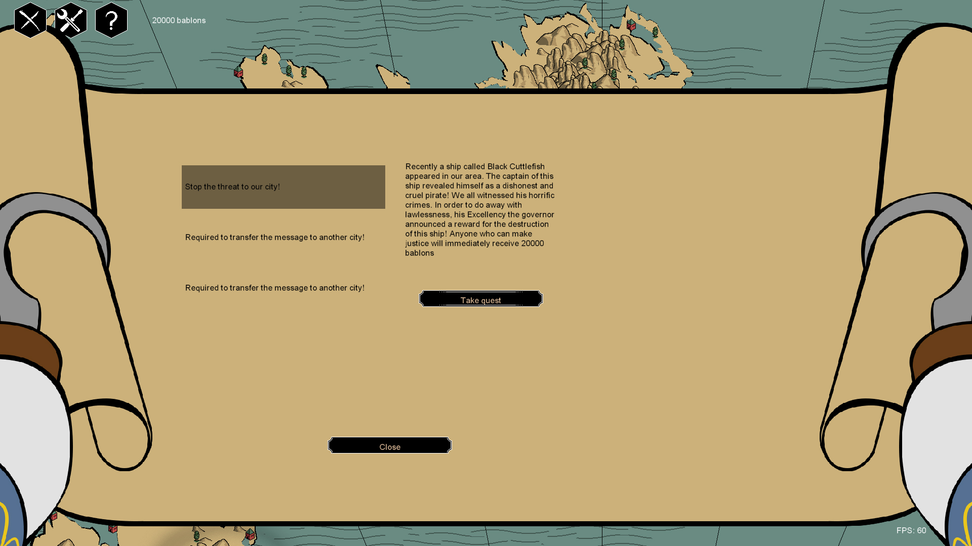 Block of Rum screenshot
