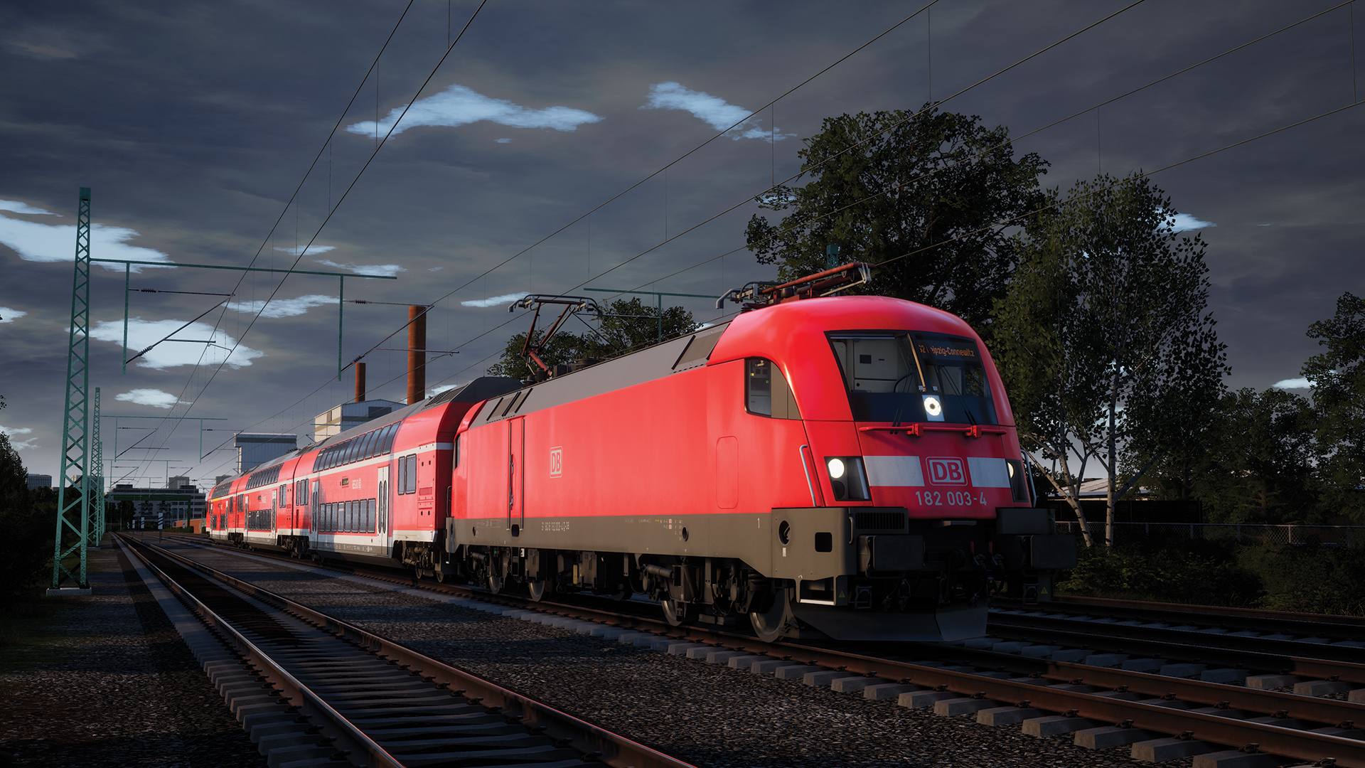 Train Sim World: DB BR 182 Loco Add-On screenshot