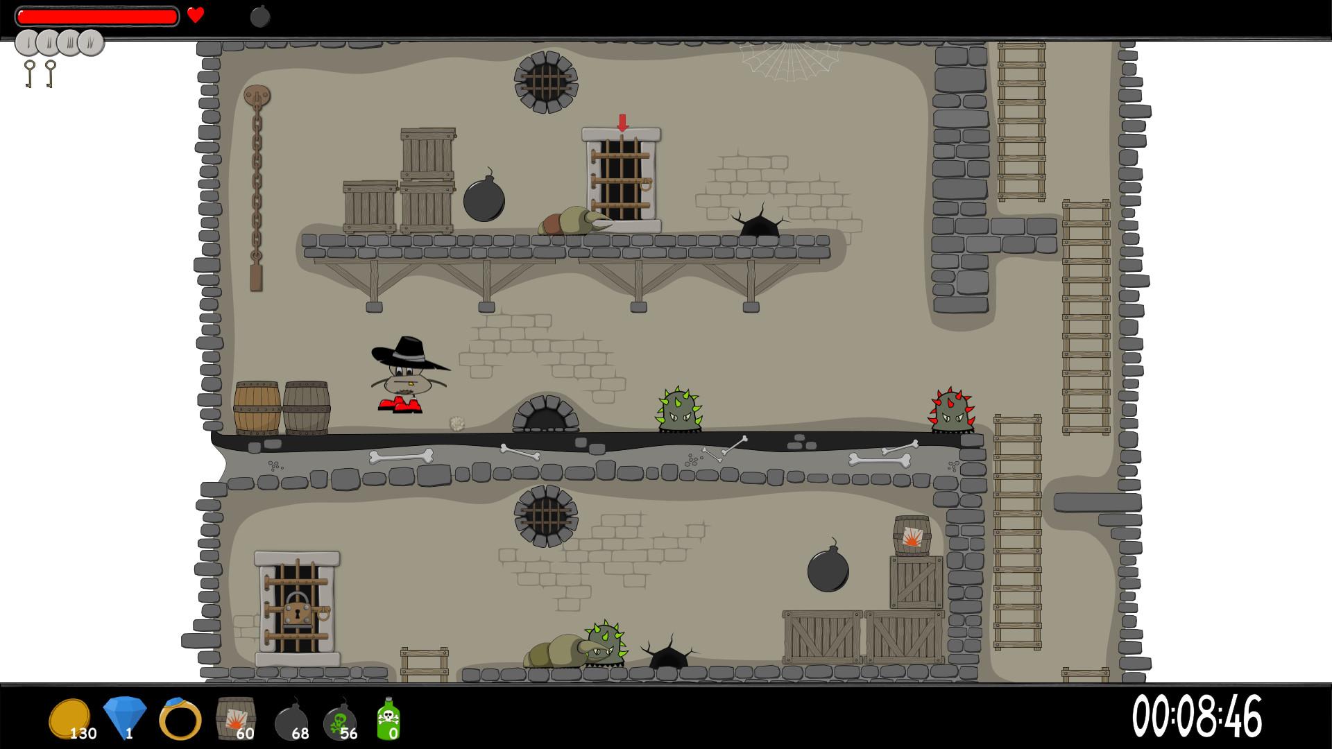 Dungeon Cleaning Express screenshot