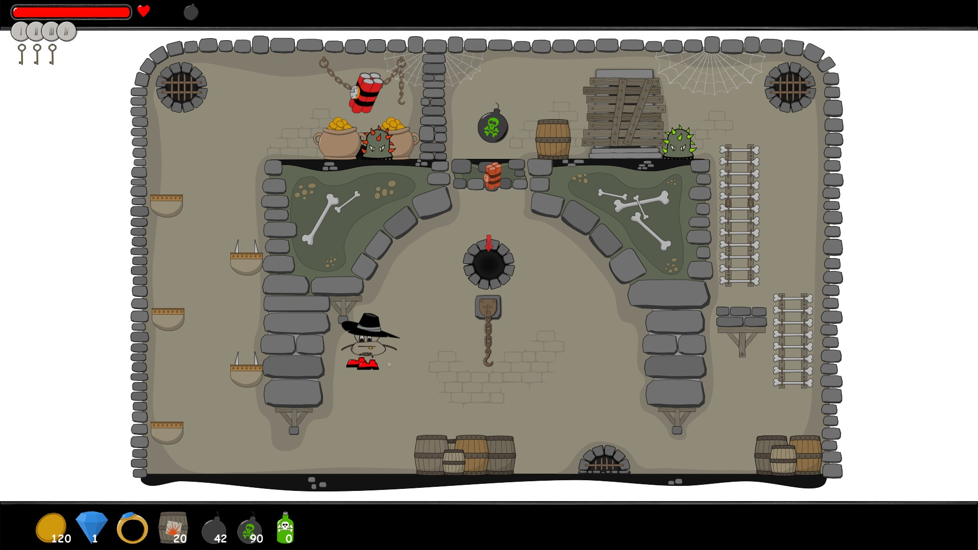 Dungeon Cleaning Express screenshot