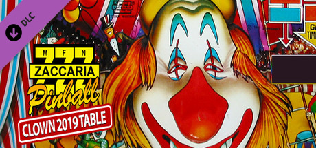 Zaccaria Pinball - Clown 2019 Table