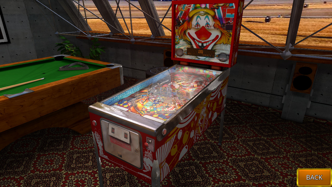 Zaccaria Pinball - Clown 2019 Table screenshot