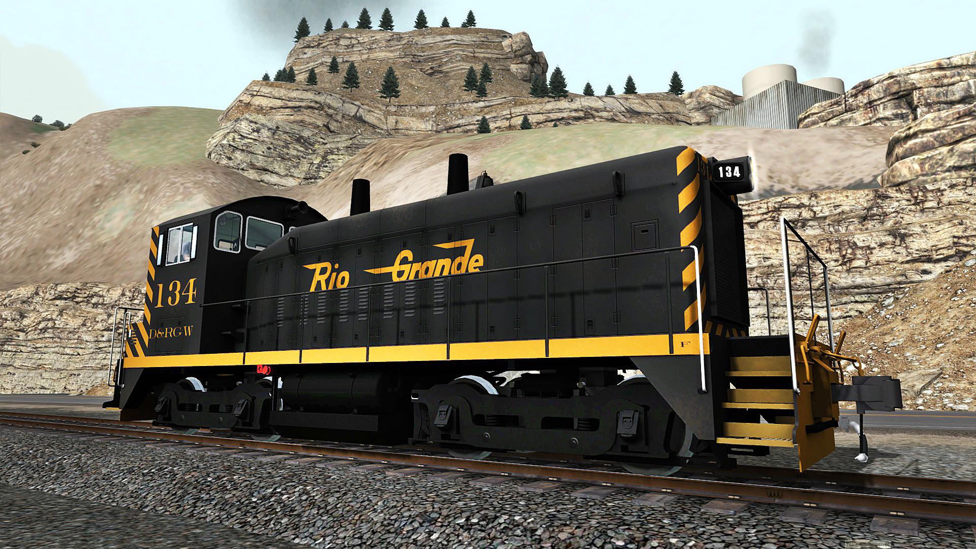 Train Simulator: D&RGW SW1200 Loco Add-On screenshot