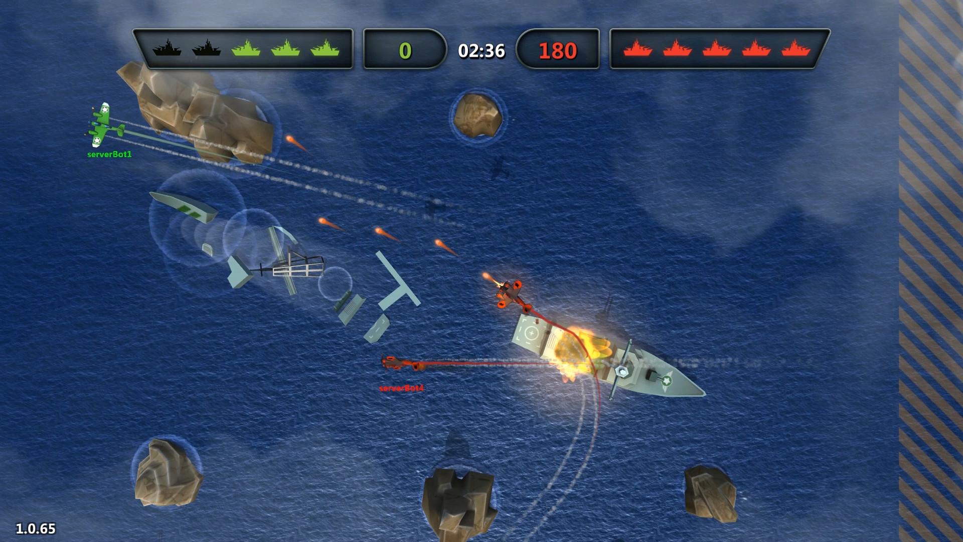 brainCloud Bombers screenshot