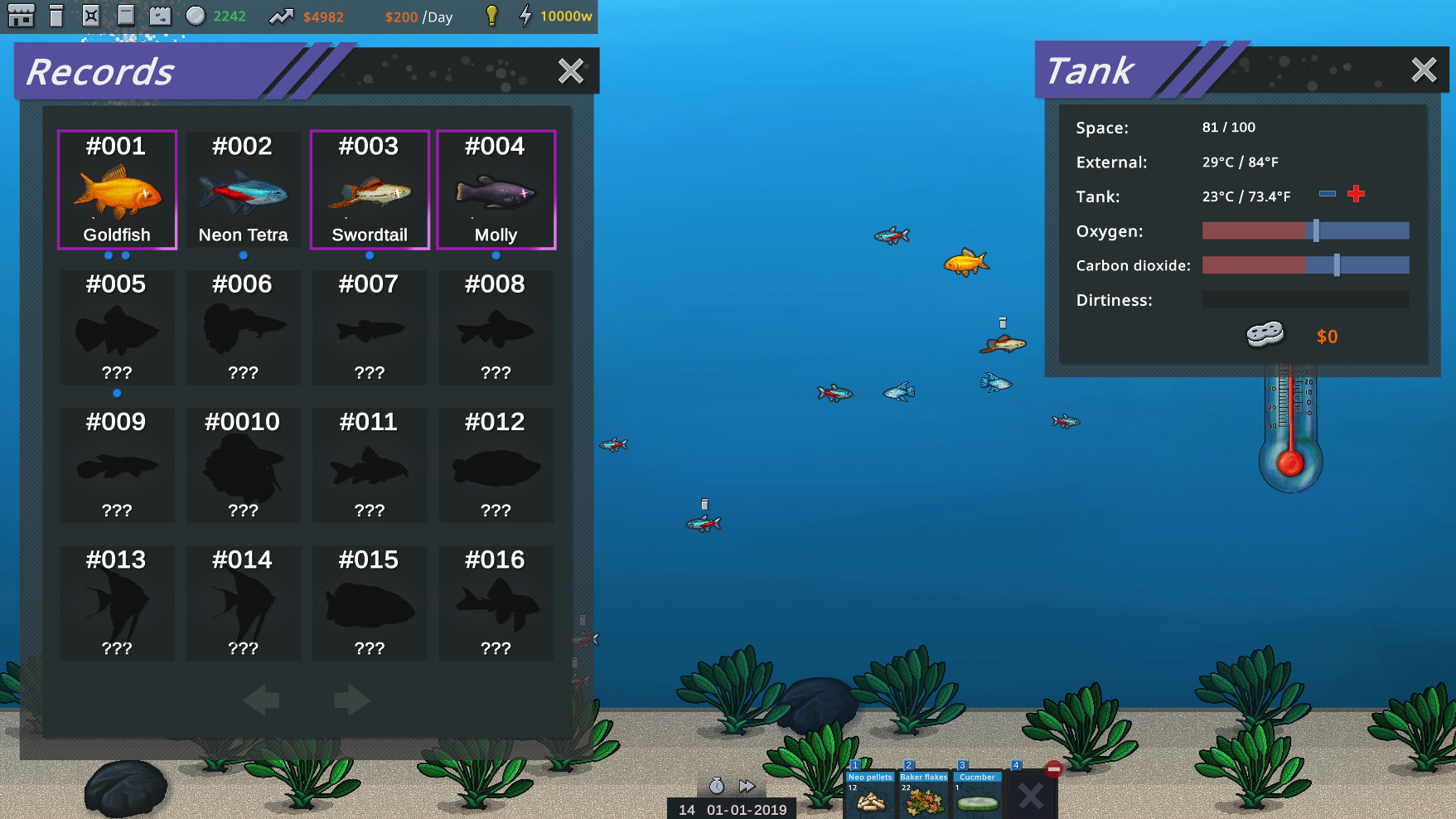 Fish Simulator: Aquarium Manager screenshot