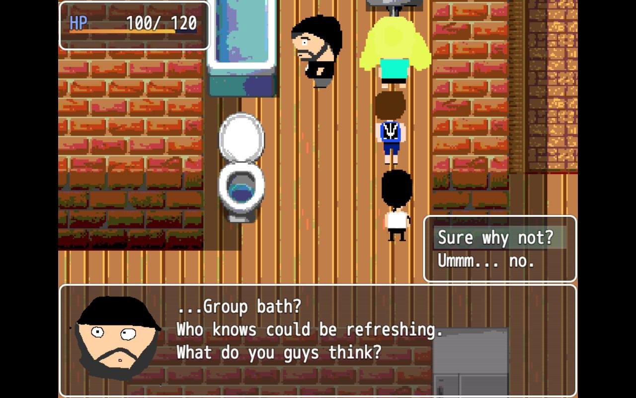 Ellen and the Degenerates RPG screenshot