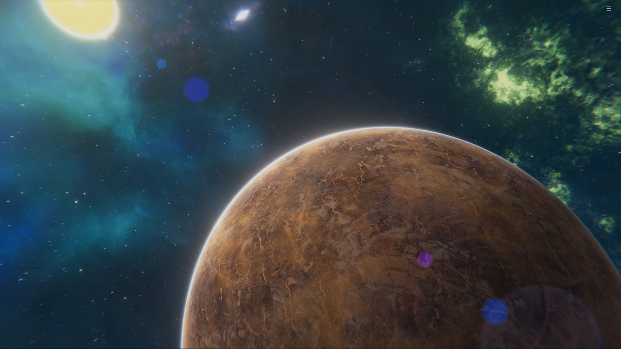 Planet Evolution PC Live Wallpaper screenshot