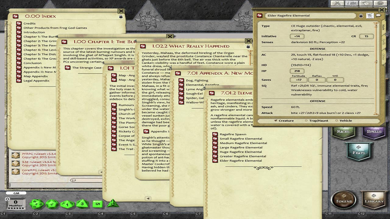 Fantasy Grounds - The Blight: The Crucible (PFRPG) screenshot