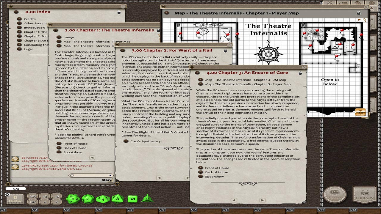 Fantasy Grounds - The Blight: The Crooked Nail (5E) screenshot