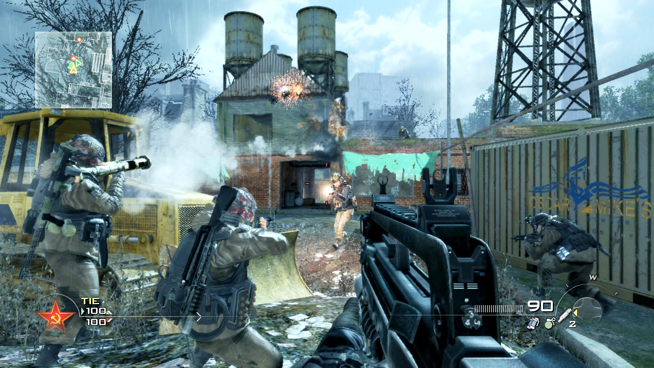 Call of Duty: Modern Warfare 2 Stimulus Package screenshot