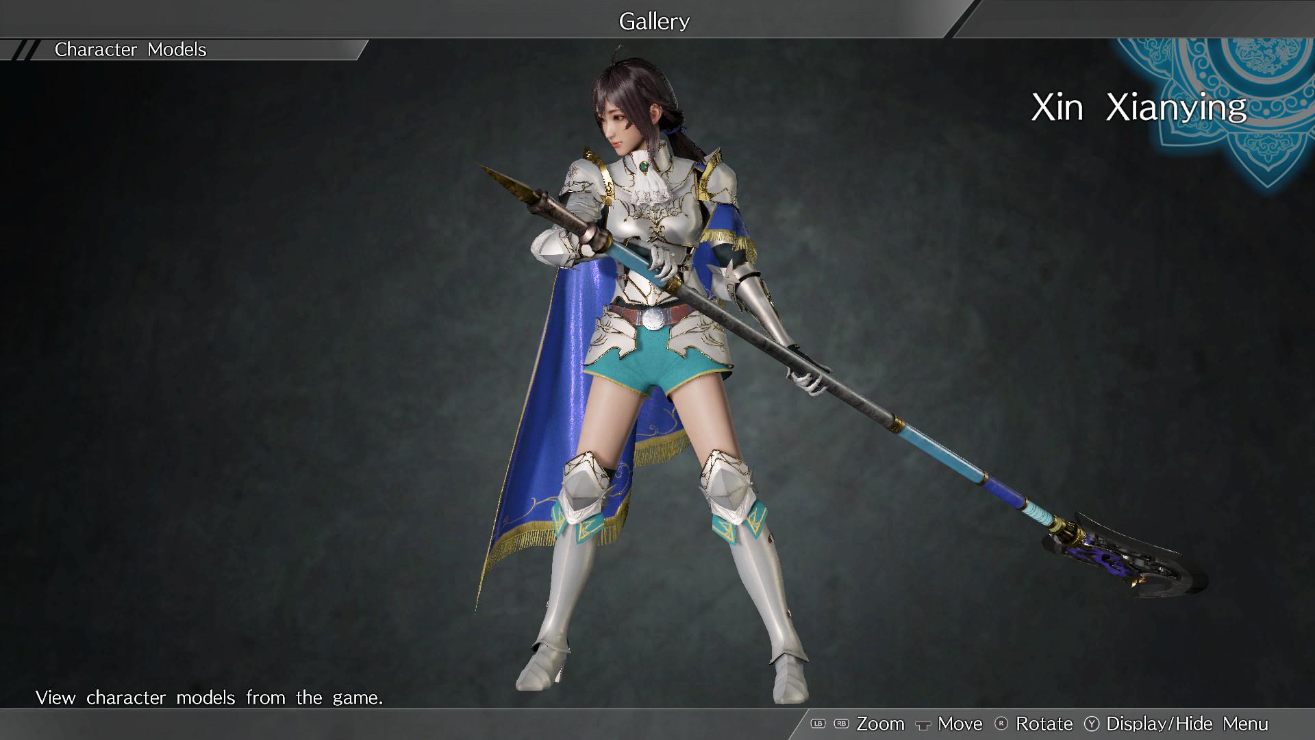 """DYNASTY WARRIORS 9: Xin Xianying """"Knight Costume"""" / 辛憲英「騎士風コスチューム」 screenshot"""
