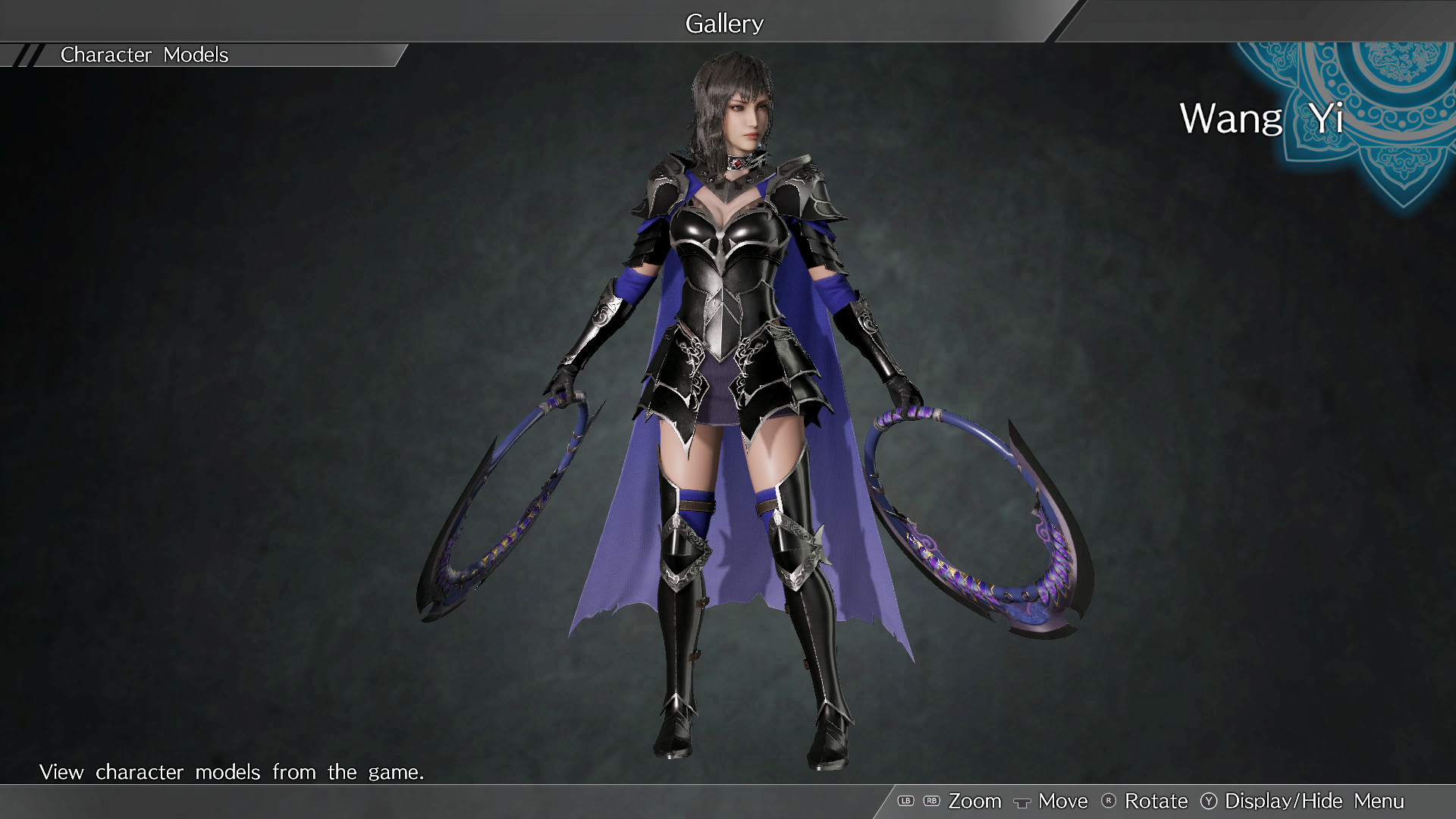 """DYNASTY WARRIORS 9: Wang Yi """"Knight Costume"""" / 王異「騎士風コスチューム」 screenshot"""