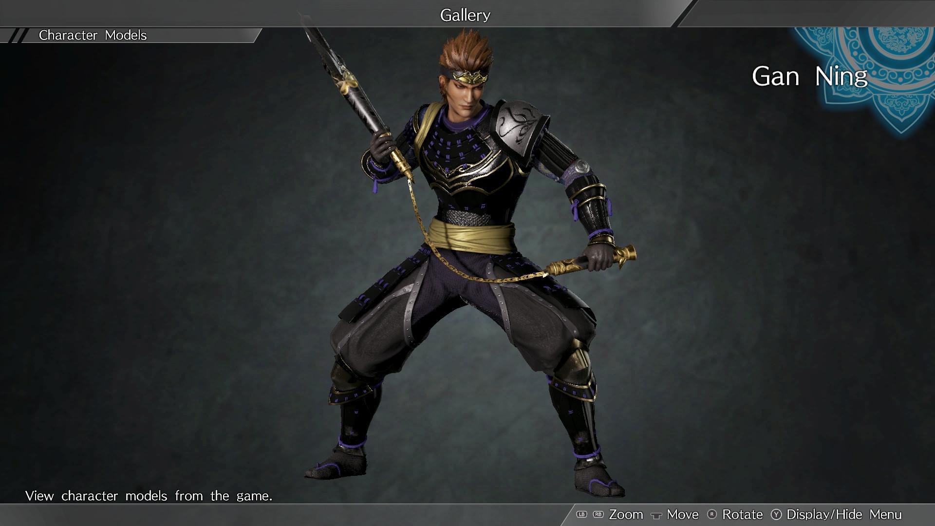 "DYNASTY WARRIORS 9: Gan Ning ""Samurai Costume"" / 甘寧「武者風コスチューム」 screenshot"