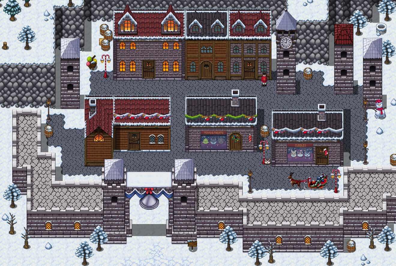 RPG Maker MV - Winter Tiles screenshot