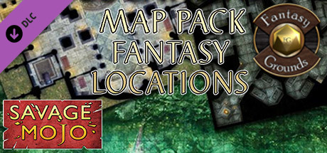 Fantasy Grounds - Map Pack Fantasy Locations (Map Pack)