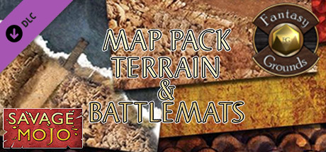 Fantasy Grounds - Map Pack Terrain and Battlemats (Map Pack)