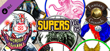Fantasy Grounds - Supers, Volume 5 (Token Pack)