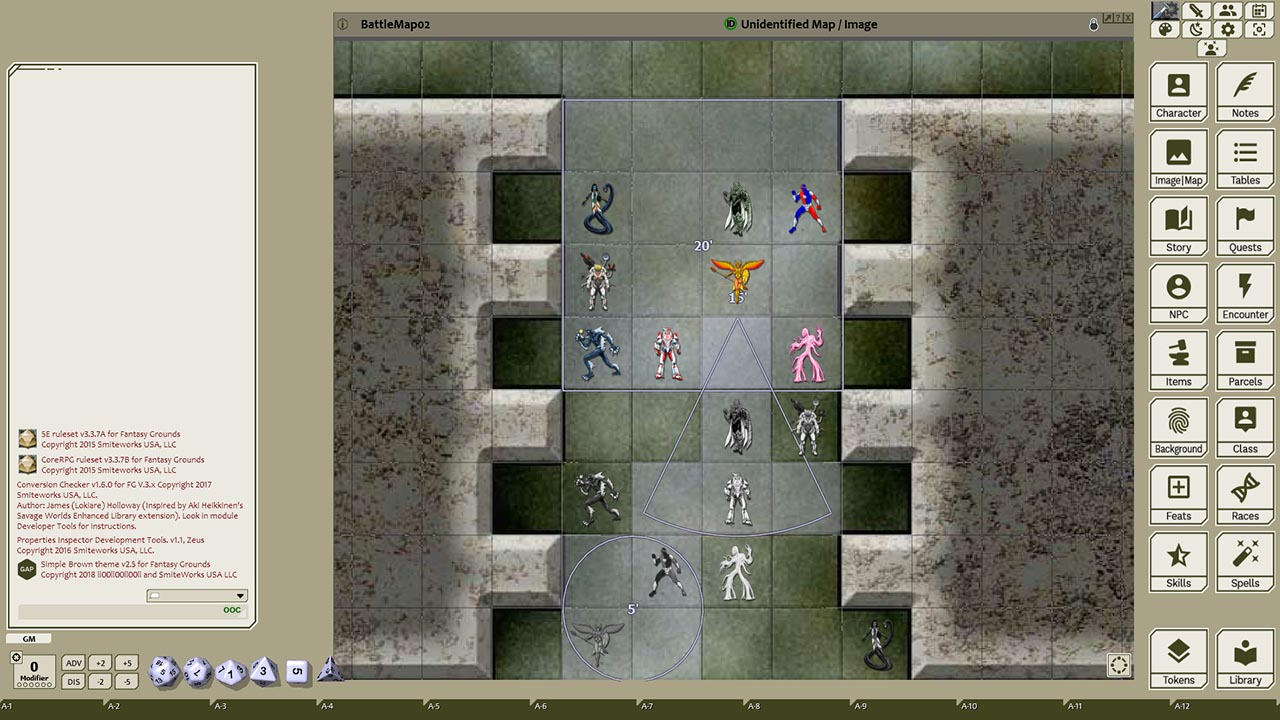 Fantasy Grounds - Supers, Volume 5 (Token Pack) screenshot