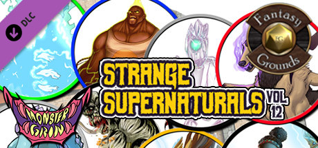 Fantasy Grounds - Strange Supernaturals, Volume 12 (Token Pack)