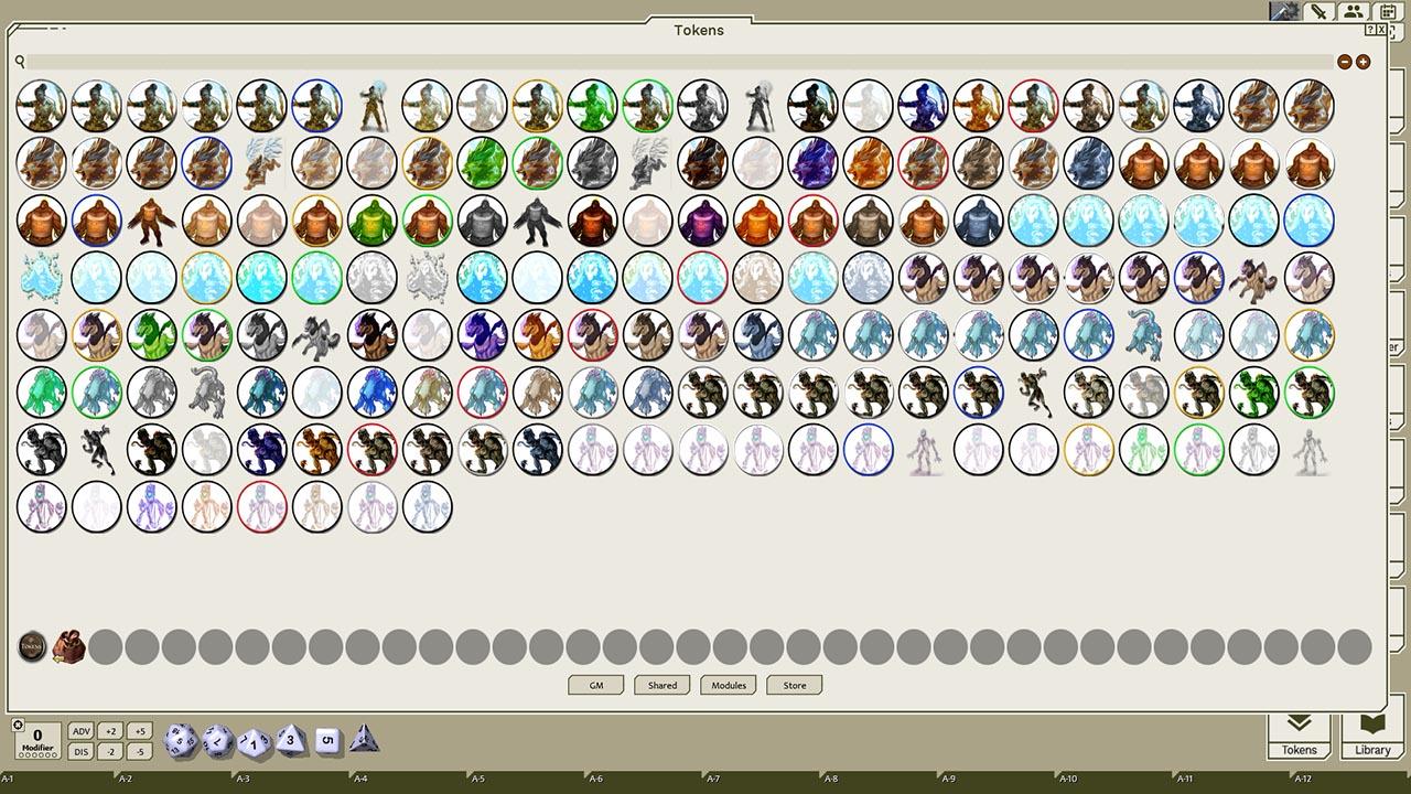 Fantasy Grounds - Strange Supernaturals, Volume 12 (Token Pack) screenshot