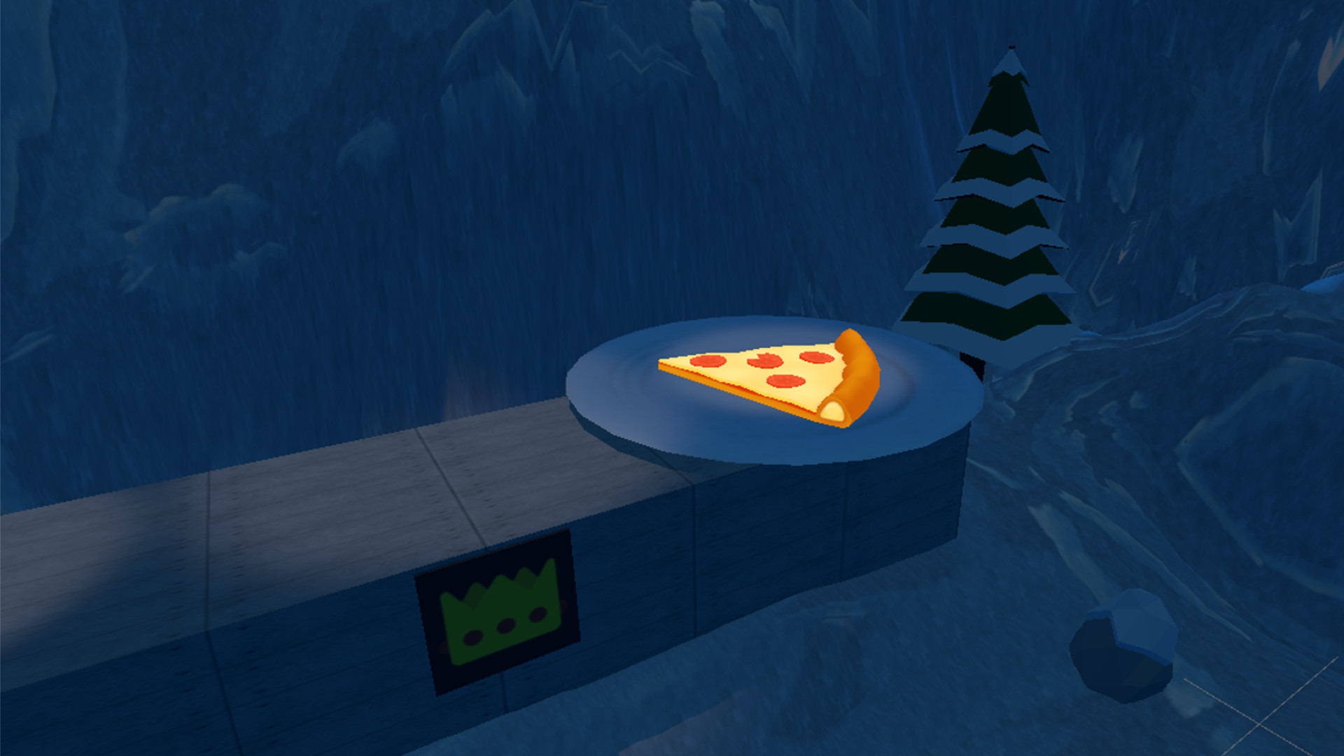 TheSecretGame2 - A Piece Of Pizza screenshot