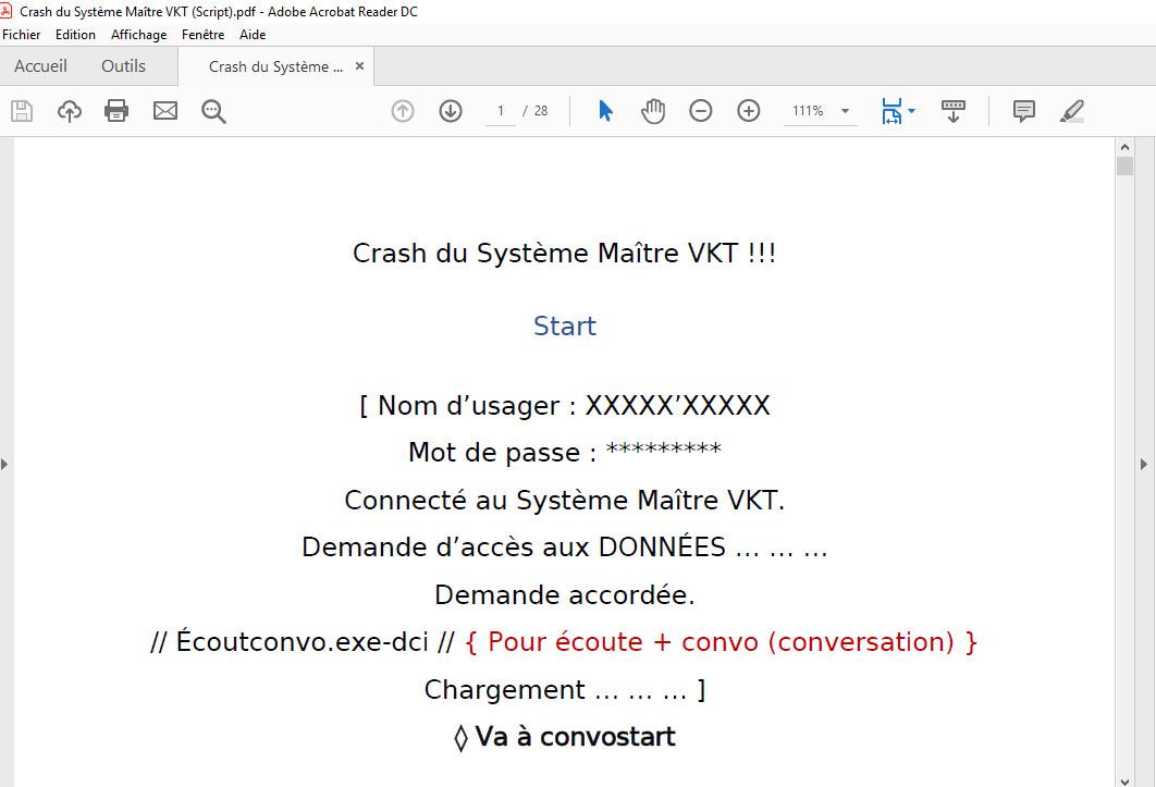 VKT Prime System Crash (Script) screenshot
