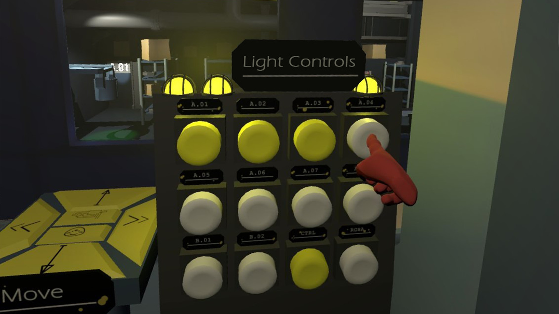 Levers & Buttons screenshot