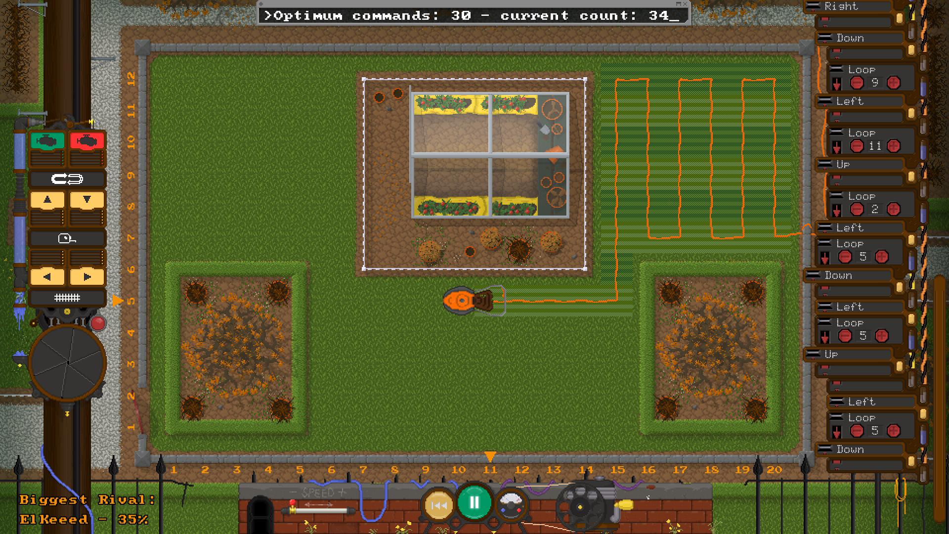 Mow Problem screenshot