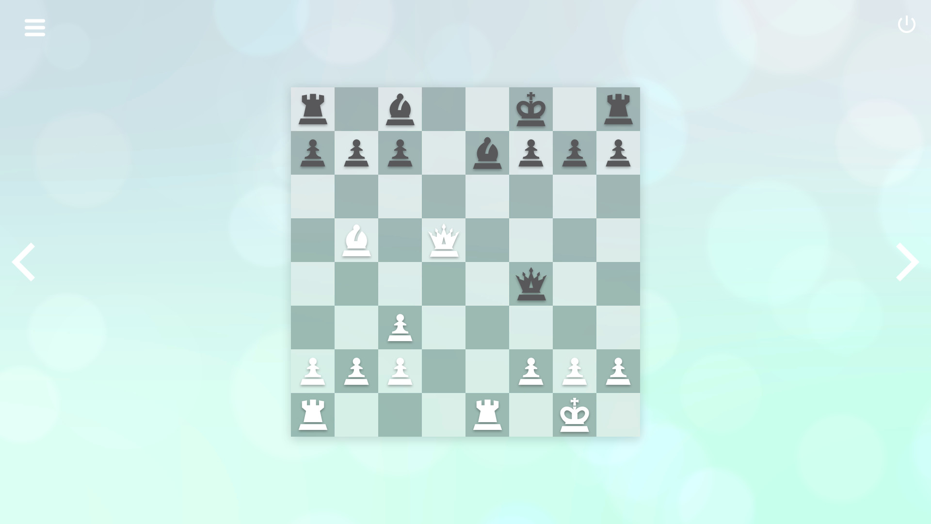 Zen Chess: Mate in Two screenshot