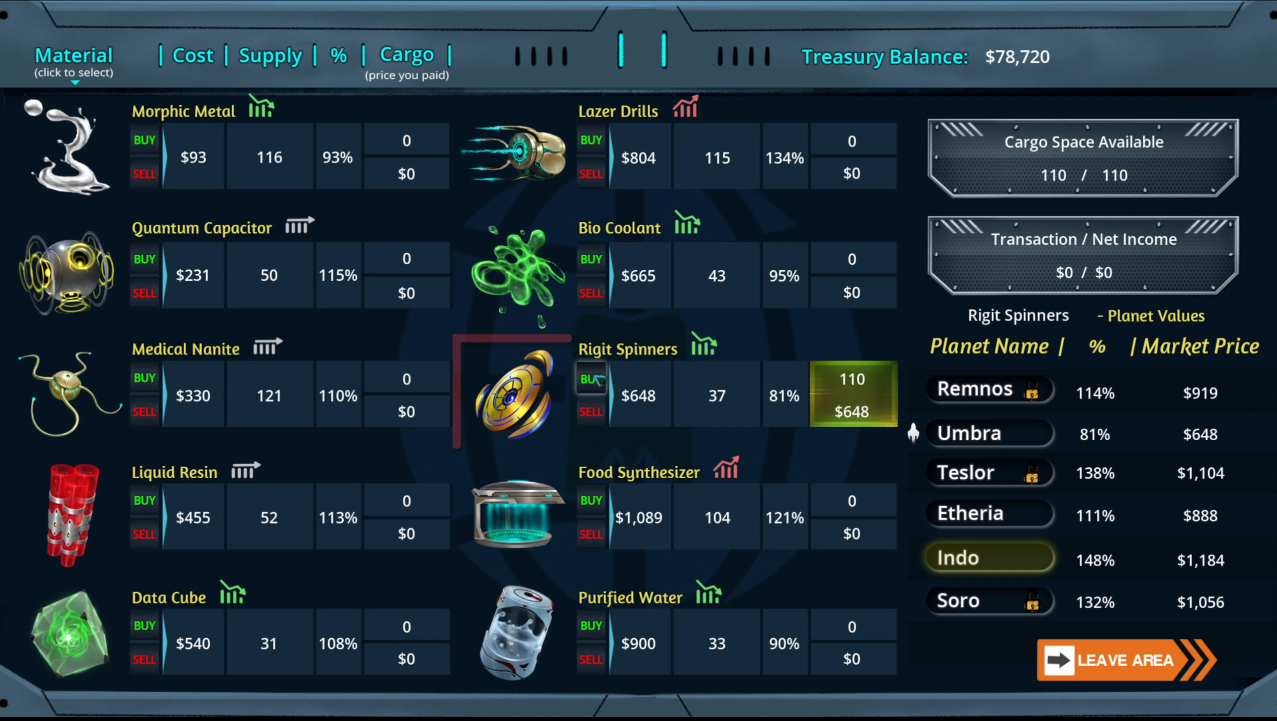 Crypterion screenshot