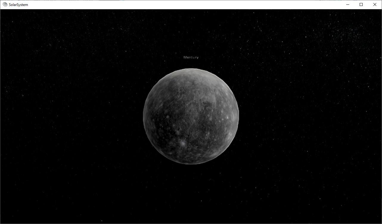 Solar System Impressions screenshot