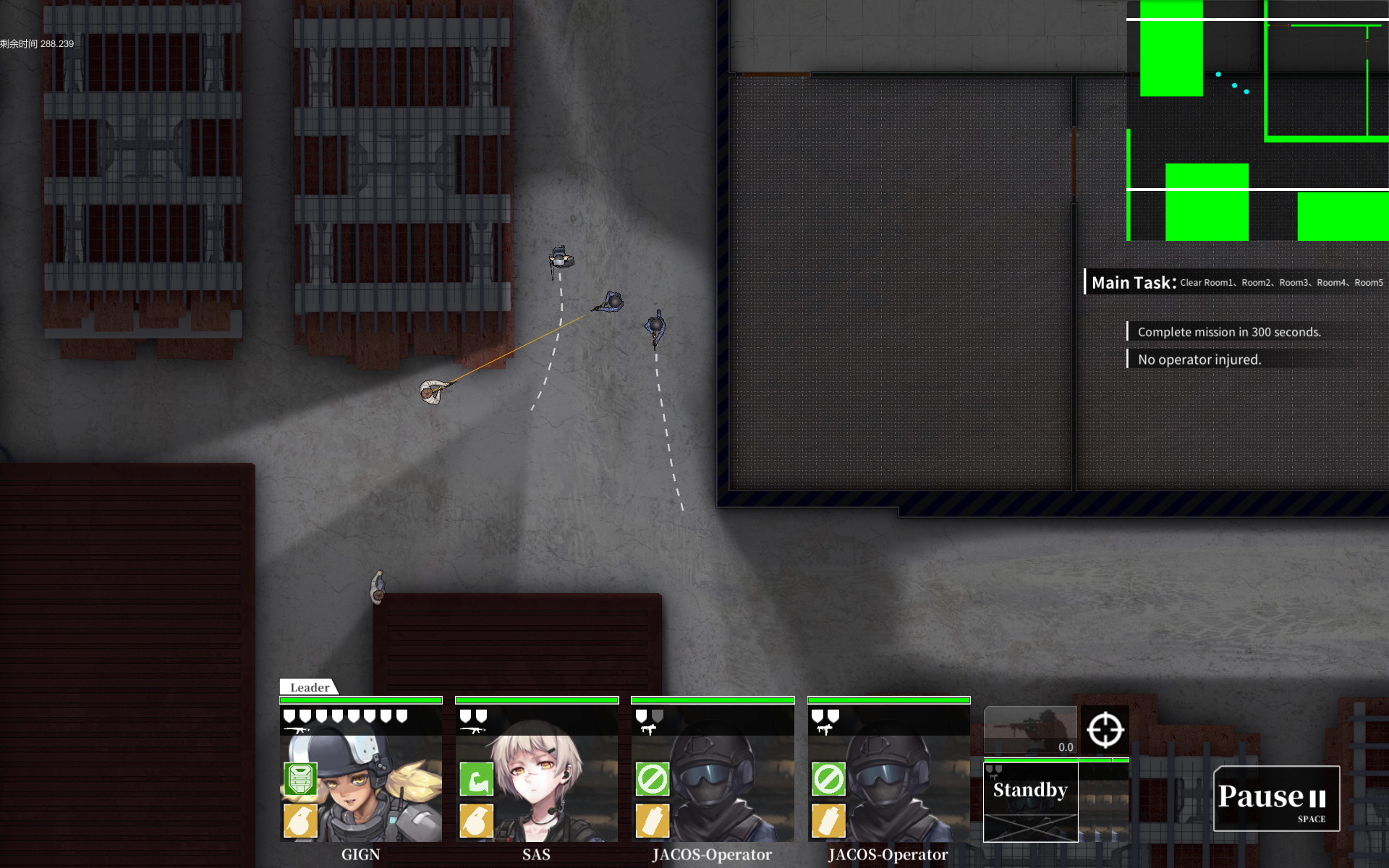 10-4 Indirect Contact screenshot