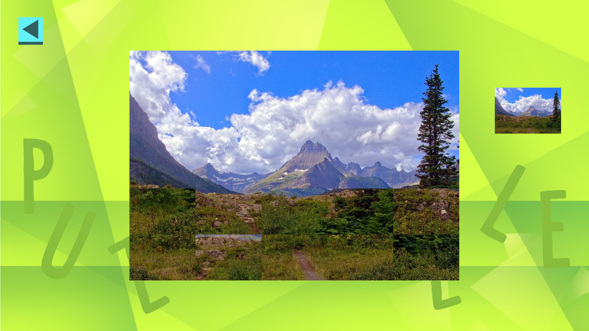 Game Of Puzzles: Nature screenshot