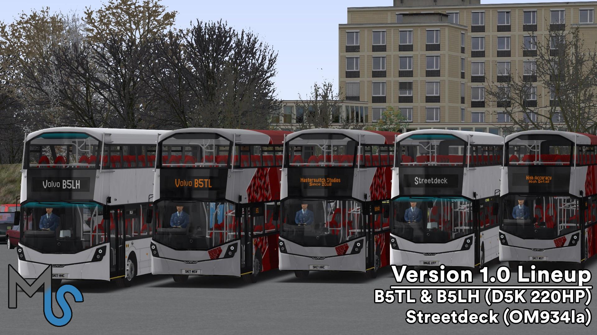 OMSI 2 Add-On Masterbus Gen 3 Pack screenshot