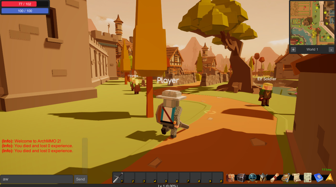 ArchMMO 2 screenshot