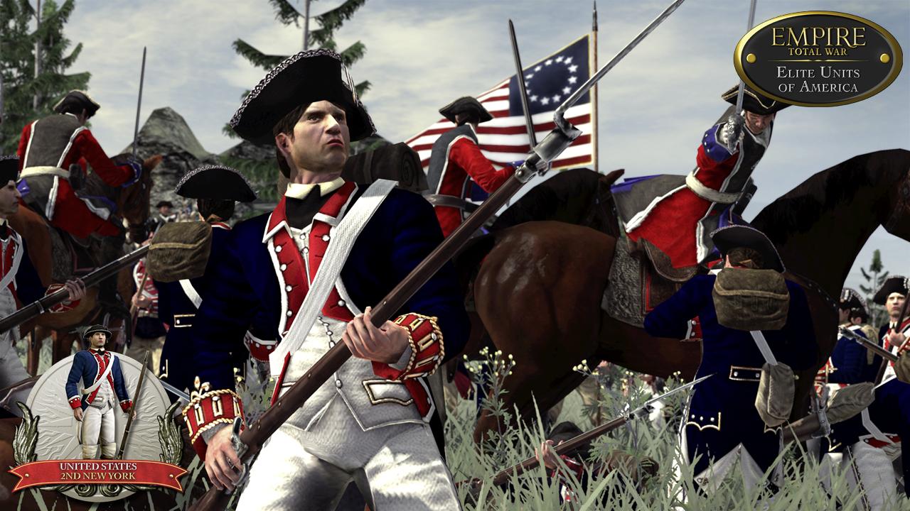 Empire: Total War - Elite Units of America screenshot