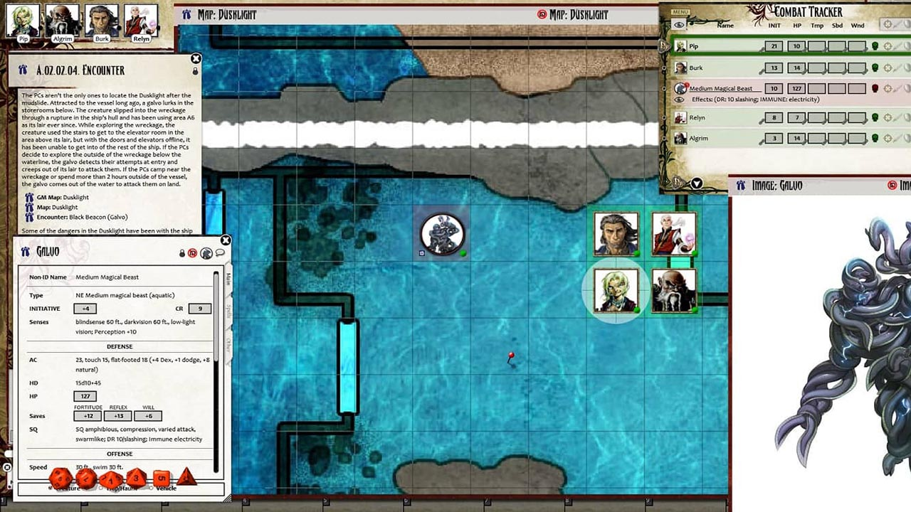 Fantasy Grounds - Pathfinder RPG - Iron Gods AP 3: The Choking Tower (PFRPG) screenshot