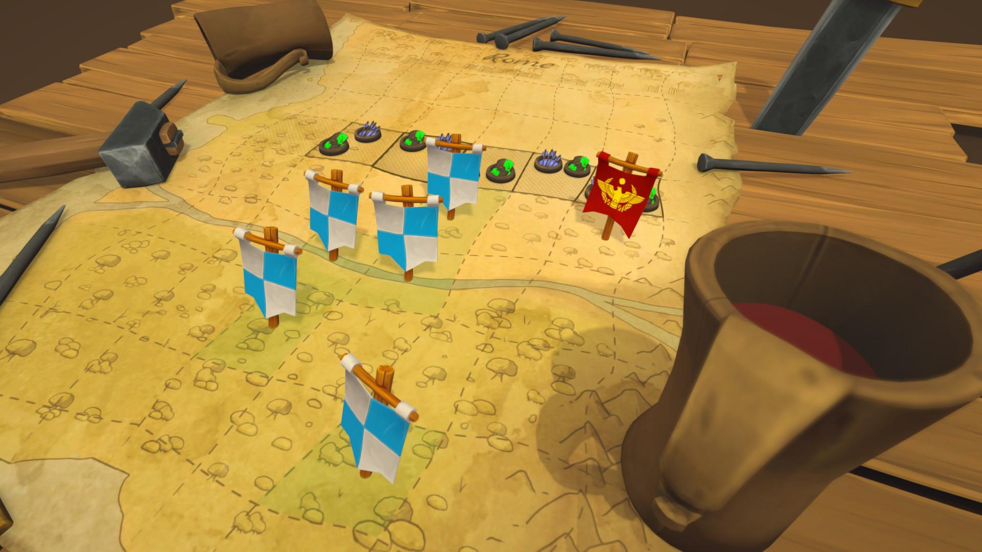 Gallic Wars: Battle Simulator screenshot