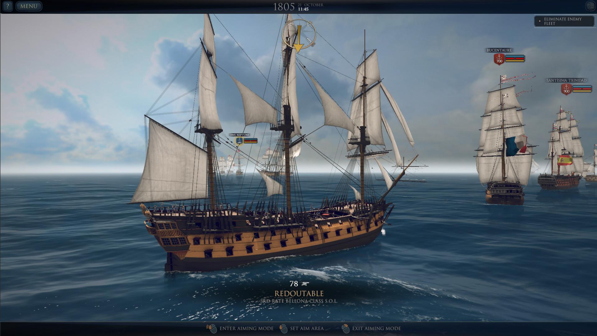Ultimate Admiral: Age of Sail screenshot