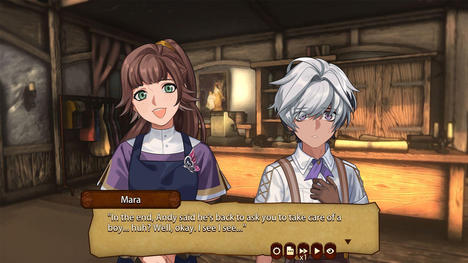Little One - A Visual Novel screenshot