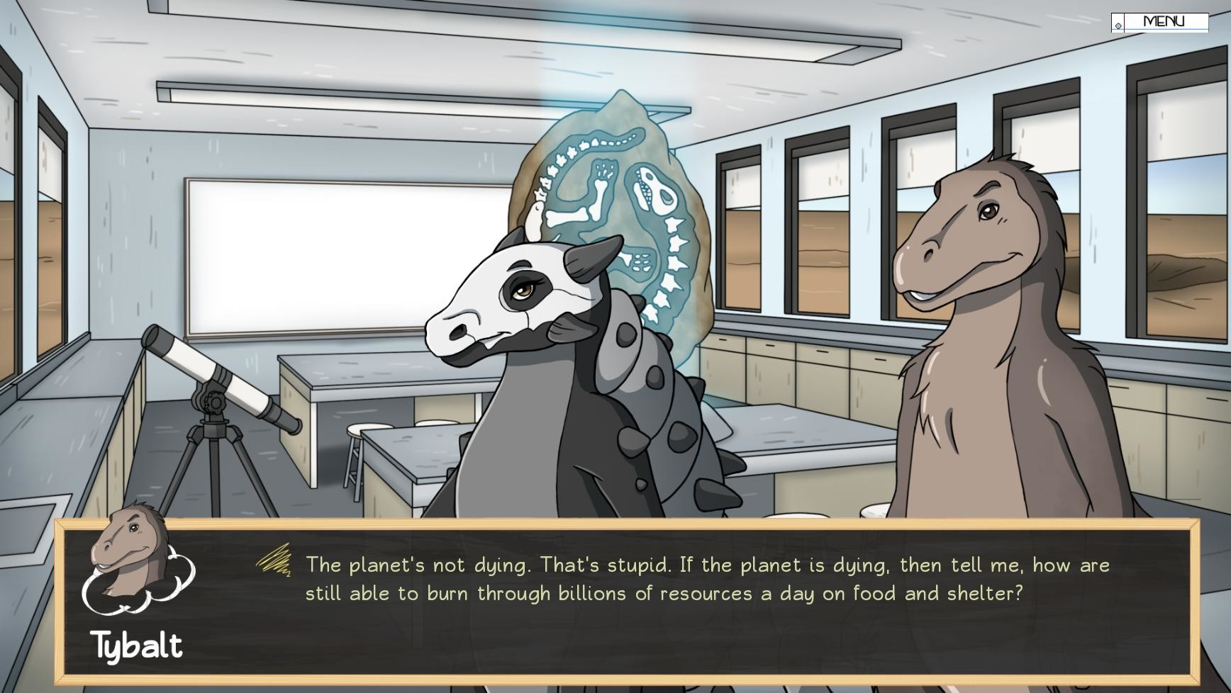 Dinosaur Shakespeare: To Date or Not To Date? screenshot