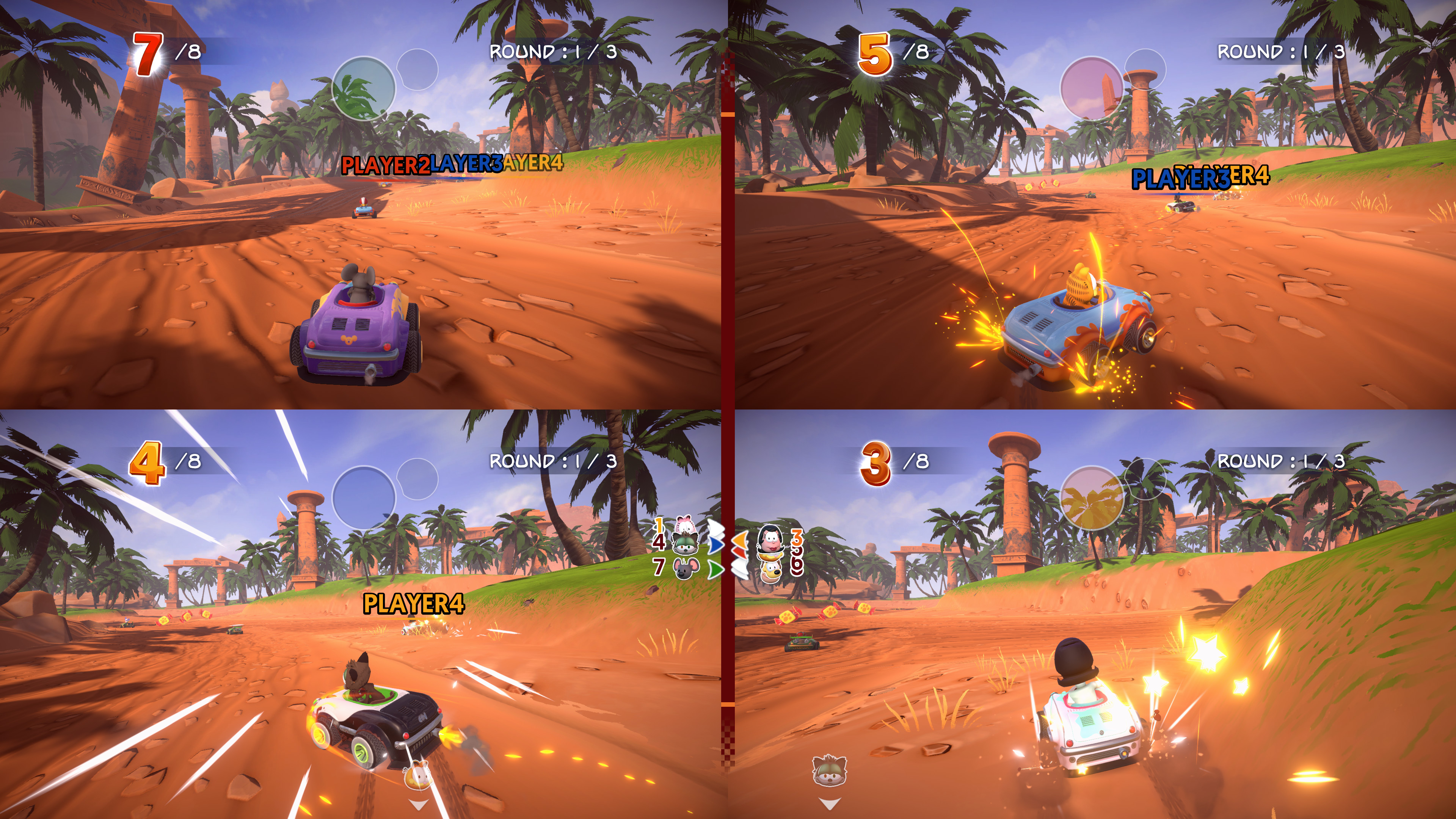 Garfield Kart - Furious Racing screenshot