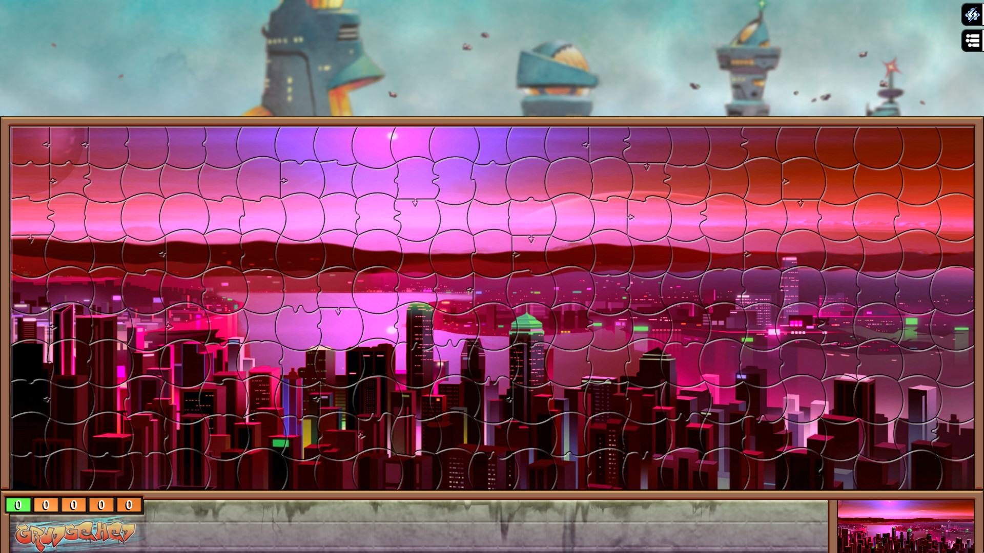 Jigsaw Puzzle Pack - Pixel Puzzles Ultimate: Cyberpunk screenshot