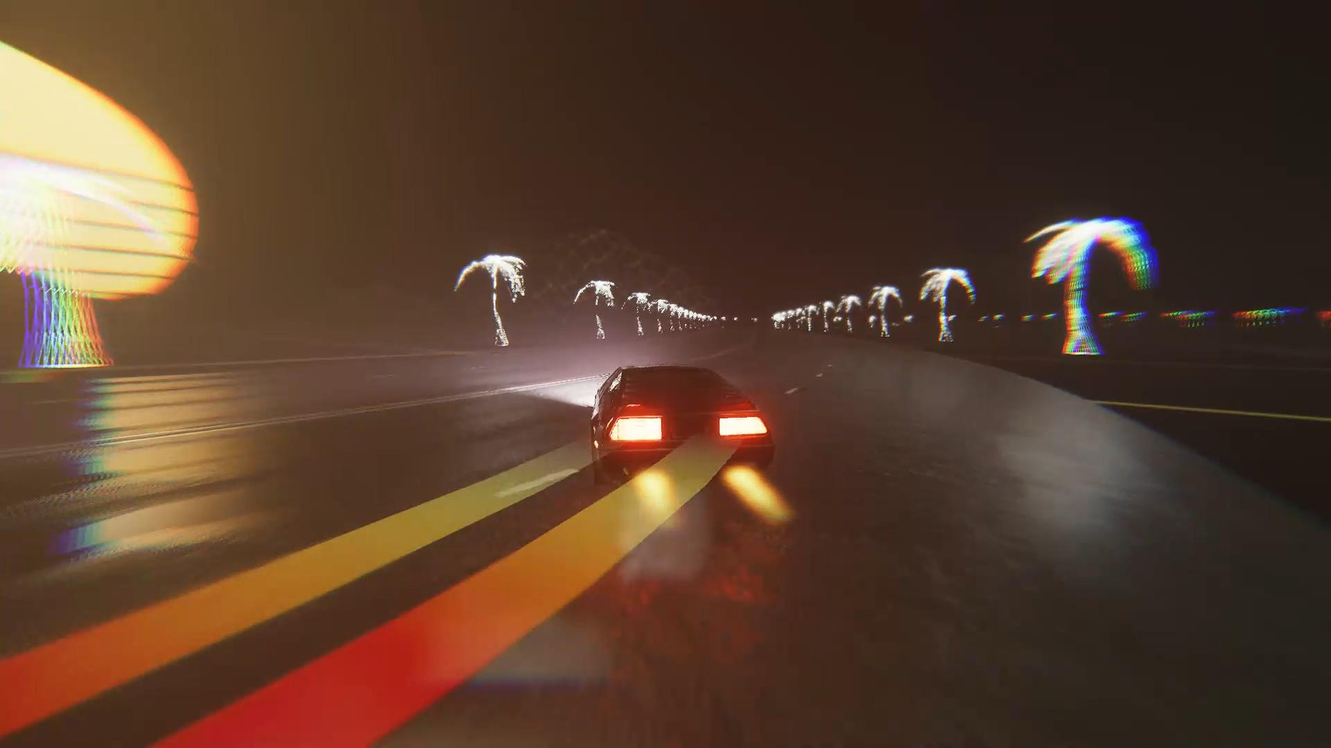 Vaporwave Drift screenshot