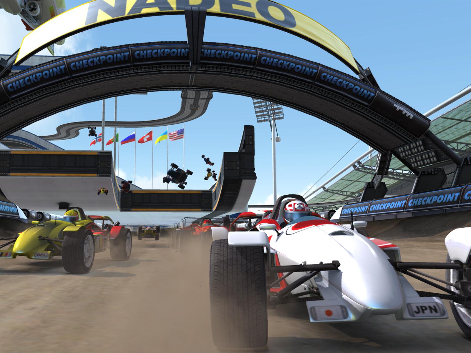 TrackMania Nations Forever screenshot