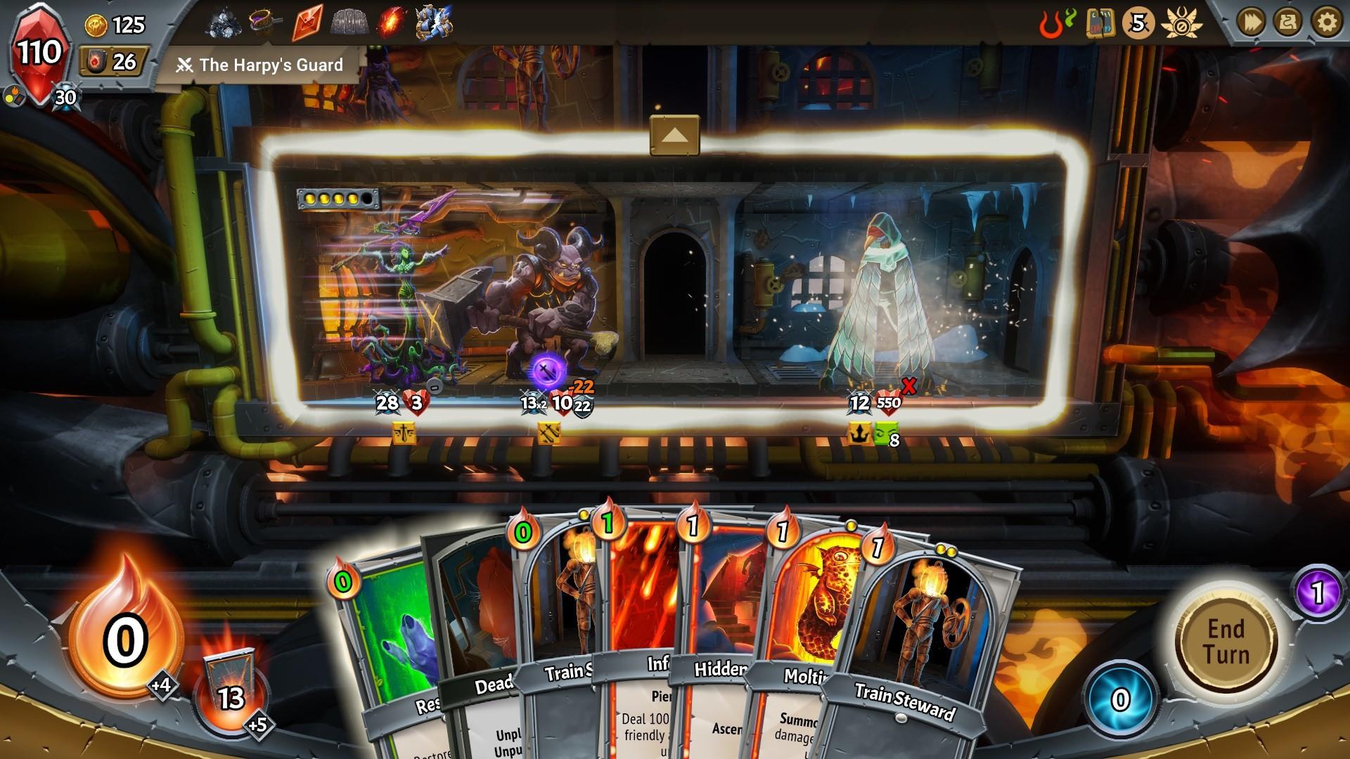 Monster Train screenshot