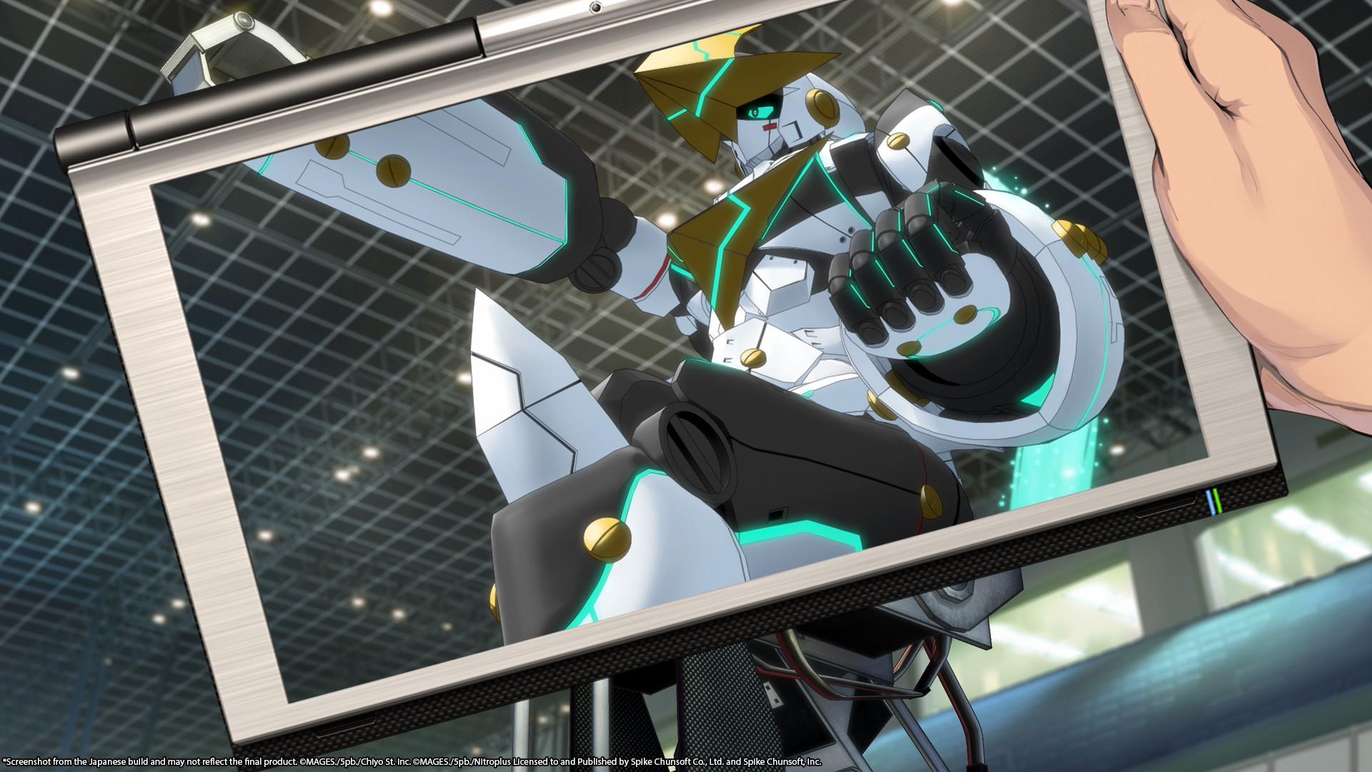 ROBOTICS;NOTES DaSH screenshot